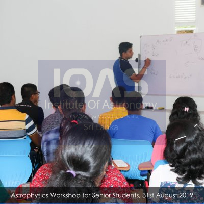 Junior Certificate Course in Astronomy (English Medium)
