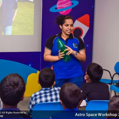Astro-Space Workshop for Kids - Sinhala Medium (Ages 5 -11)
