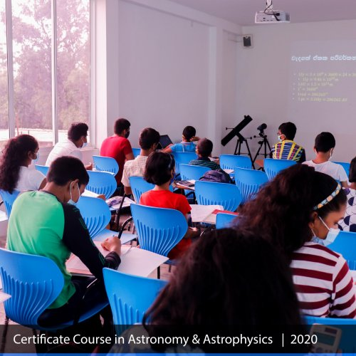 Senior Certificate Course in Astrophysics 2020